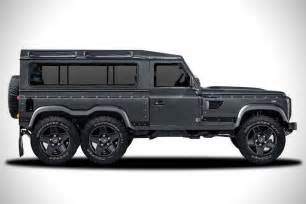 land rover defender flying huntsman 6x6 concept