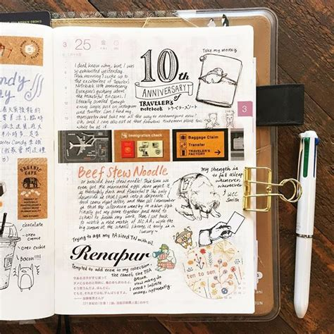 daily doodle diary 17 best images about hobonichi techo on the