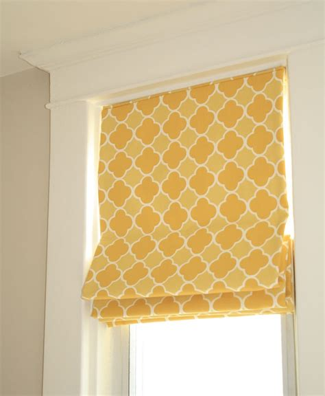 yellow pattern roman shade pin by barbara marbury on best baby decor pinterest