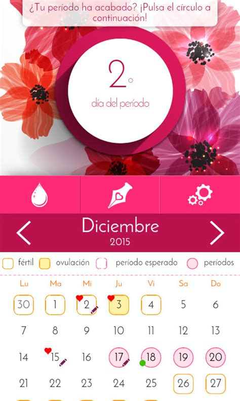 Calendario Menstrual Gratis Calendario Menstrual Para Android Descargar Gratis