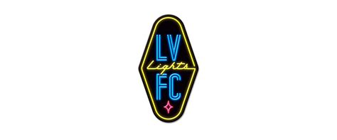 las vegas lights fc brand logo for las vegas lights fc