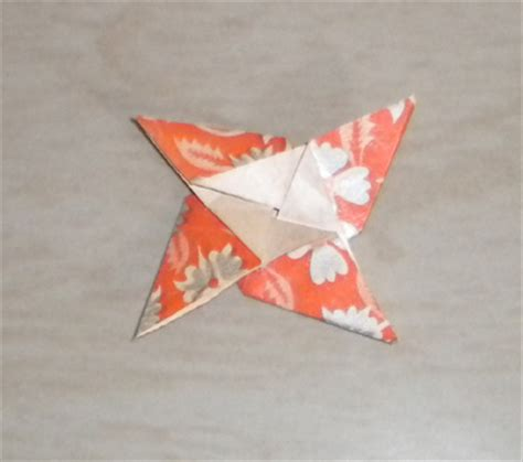Origami 4 Pointed - origami 4 pointed folding how to fold
