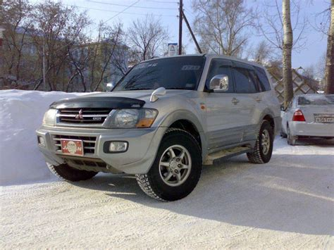 how it works cars 2001 mitsubishi pajero parental controls 2001 mitsubishi pajero pictures 3500cc gasoline for sale