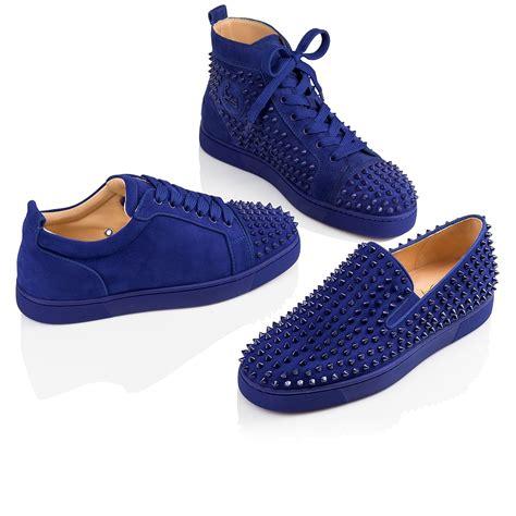 christian louboutin blue shoes www pixshark