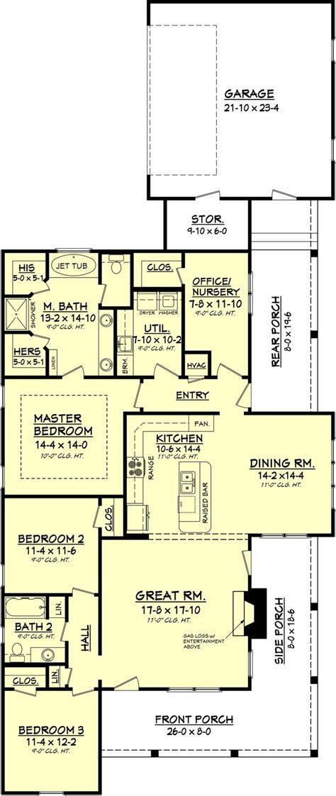 3 bedroom country floor plan country floor plan 1900 s f 3 bedroom 2 bath suitable for