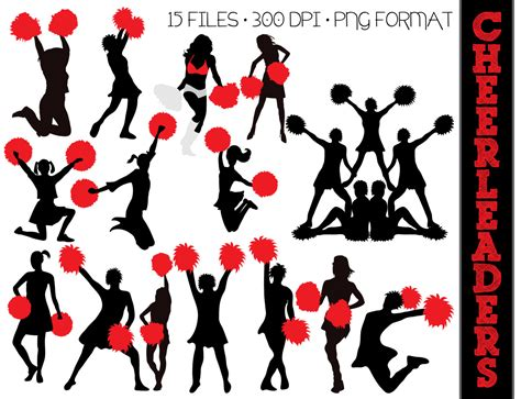 cheerleading clipart cheer jump clipart clipart suggest