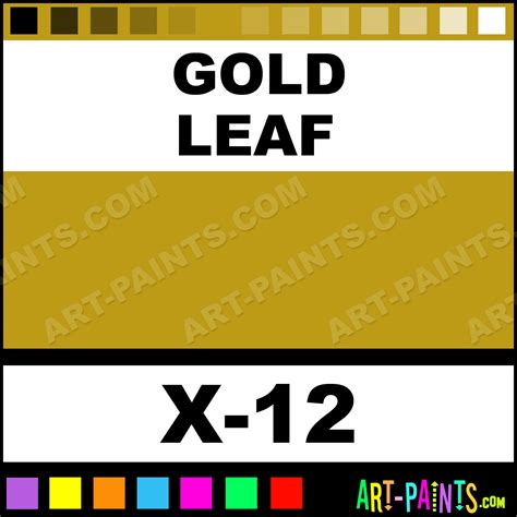 gold leaf color acrylic paints x 12 gold leaf paint gold leaf color tamiya color paint