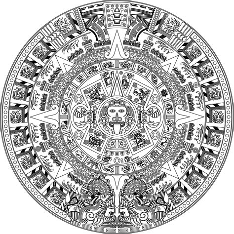 file aztec calender joined vectorsdxf 2000 png wikimedia