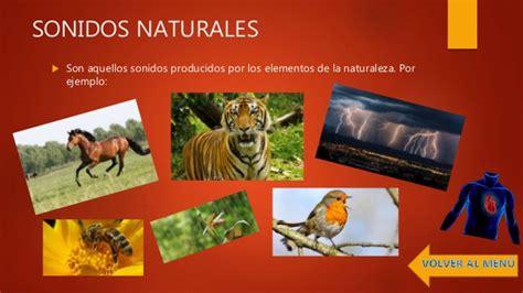 imagenes de sonidos naturales sonidos naturales y artificiales tic en formacion docente