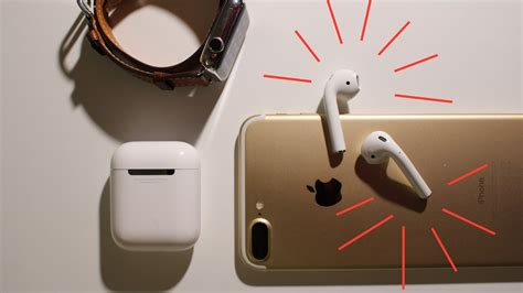 Apple Airpods For Iphone Original unboxing apple airpods test with iphone 7 plus apple review view d 233 ballage