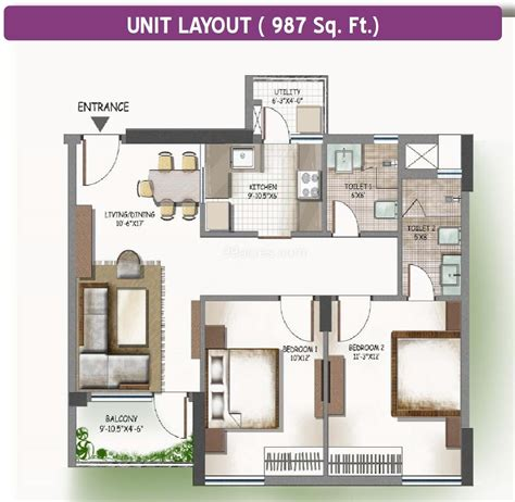 lotus boulevard floor plan lotus boulevard floor plan 2br 2t 987 sq ft projects