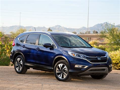 Compare Suv 2015 by Compact Suv Comparison 2015 Honda Cr V Kelley Blue Book