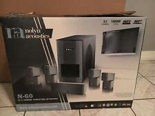 nolyn acoustics home theater systems  sale ebay