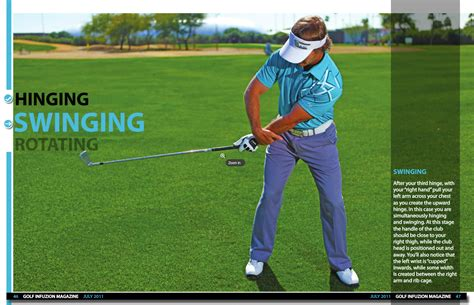 use of right hand in golf swing back in action jeff ritter
