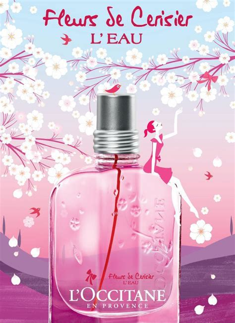 Parfum Cemara Trees Cherry new from l occitane cherry blossom l eau fragrance collection