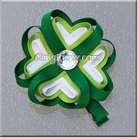 ribbon shamrock instructions 154 best 4 h images on pinterest 4 h clover 4h fair and