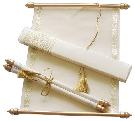 wedding scrolls invitations scroll wedding invitation wedding scrolls s864 ebay