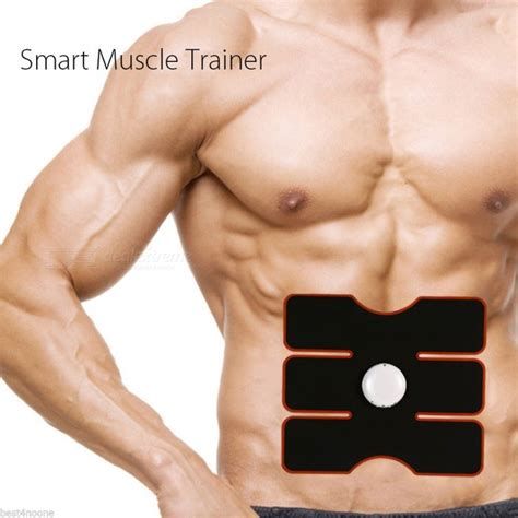 Smart Abs Trainer wireless smart abs abdominal belly intensive device gear pad sculpting