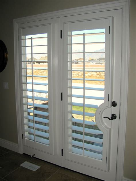 Plantation Shutters On Doors stanfield shutter co architectural coves