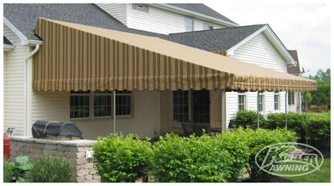 kohler awning raised roof fabric awnings kohler awning