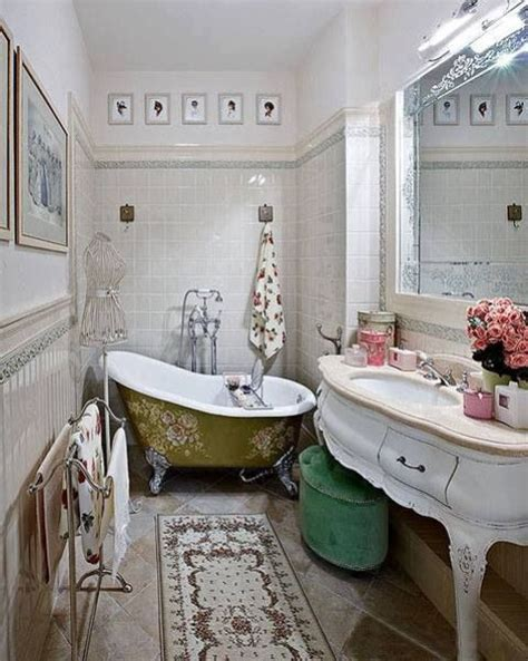 vintage small bathroom ideas 26 refined d 233 cor ideas for a vintage bathroom digsdigs