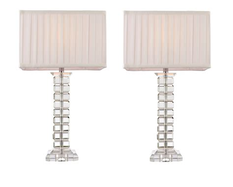 shades of light free shipping pair of tall modern glass light bedside l lights