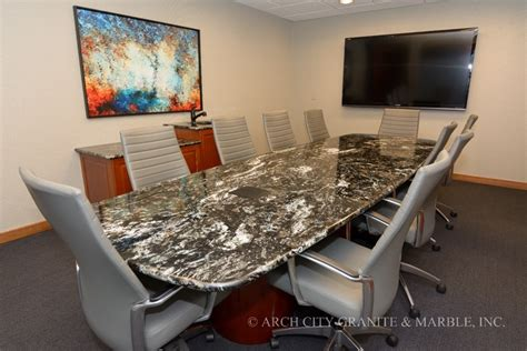 Quartz Conference Table Granite Conference Tables And Reception Desks In St Louis