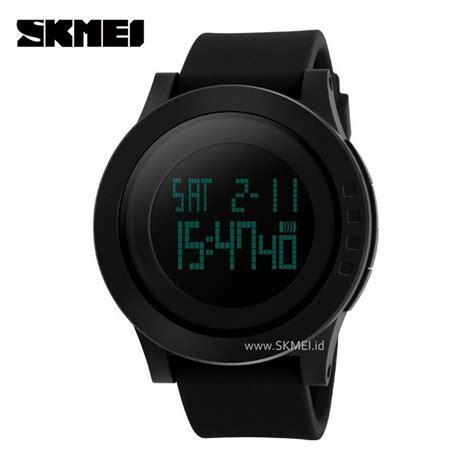 Jam Tangan Sport Skmei 1054 Jam Tangan Original Black Gold jual jam tangan skmei original led sport jam water resist