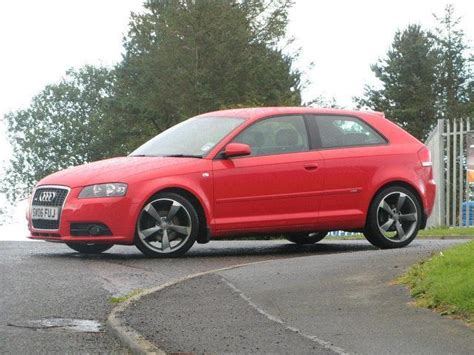 Red Audi A3 For Sale used audi a3 2006 red colour diesel 2 0 tdi quattro s