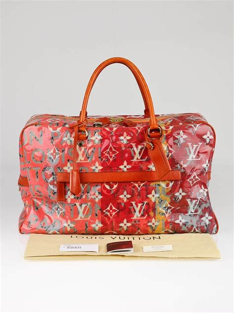Louis Vuitton Richard Prince Big City After Handbag Line by Louis Vuitton Limited Edition Richard Prince Pink Monogram