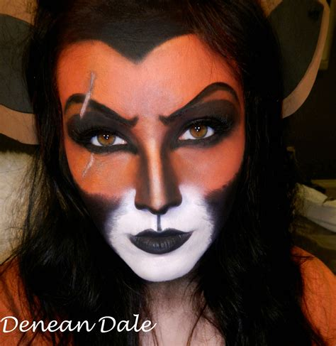 disney makeup tutorial for my disney lovers scar makeup i did tutorial in the