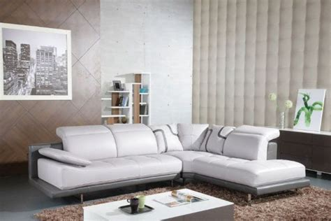 Modern Leather Corner Sofas by Modern Leather Sectional Corner Sofa Modern Leather