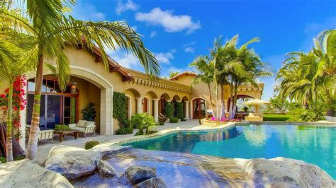 beautiful house hd wallpapers superhdfx summer villa houses beautiful pools photography palm trees