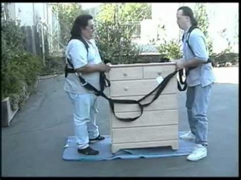 grip system moving straps furniture youtube