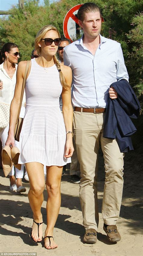 celebrity on vacation video eric trump and wife lara enjoy vacation in uruguay two