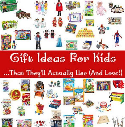 gift ideas for kids that they ll actually use the