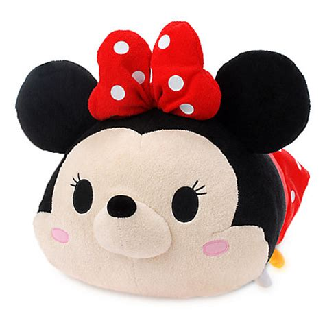 Boneka Tsum Tsum Disney Minnie Mouse minnie mouse large tsum tsum 17 quot l43 2cm plush nwt disney store st 2015 ebay