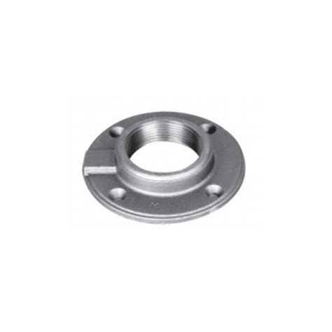 3 8 inch imported lead free malleable iron floor flange