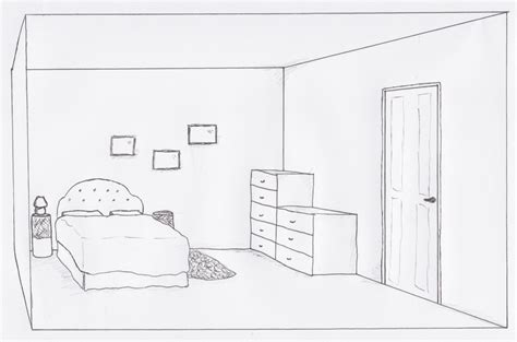 How To Draw A Bedroom | the house of kathleen
