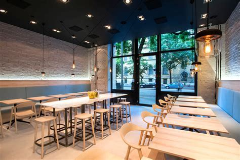 Greek Cuisine Restaurant Decor by Gasparbonta   InteriorZine
