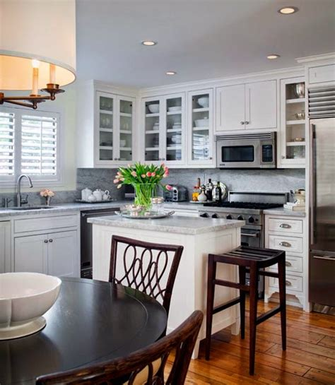 Small White Kitchen Design Ideas by 6 Creative Small Kitchen Design Ideas Small Kitchen