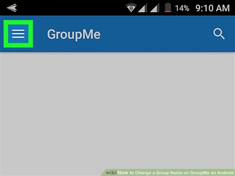 groupme app android how to change a name on groupme on android 9 steps
