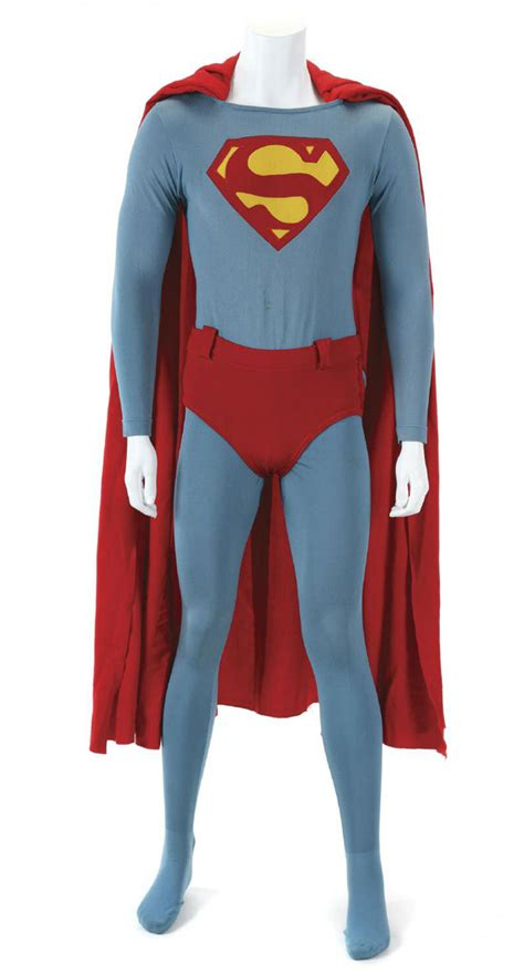 at at costume superman iv christopher reeve special effect flying costume auctioned extravaganzi