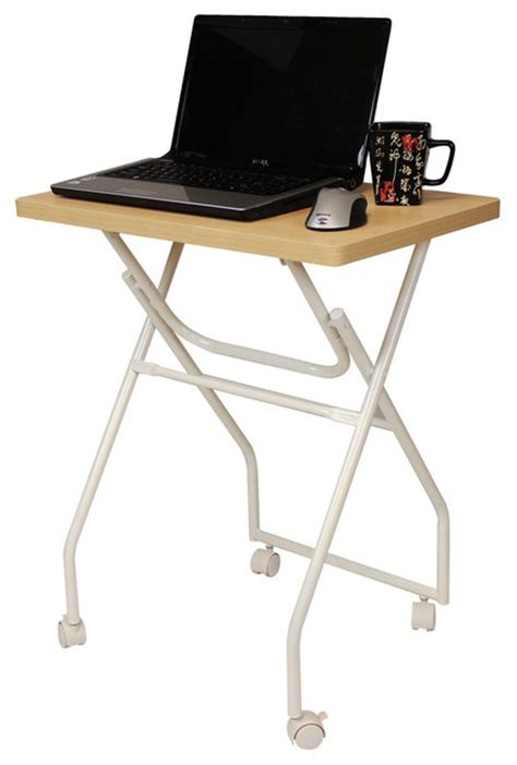 tray table with wheels folding tv tray table laptop computer stand with locking