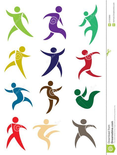 imagenes abstractas humanas figuras humanas en la acci 243 n im 225 genes de archivo libres de