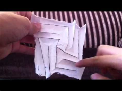 Origami Flasher - origami simple flasher by shafer