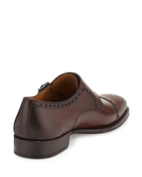 brown slip on loafers lyst neiman vekio slip on loafer in brown for
