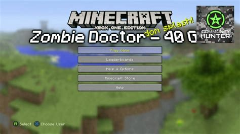 zombie doctor tutorial minecraft xbox one edition zombie doctor guide v2 youtube