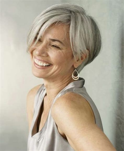 hairstyles for gray hair women over 55 best 25 short gray hairstyles ideas on pinterest short