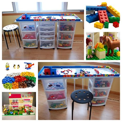 diy lego tables perfect  kids   ages